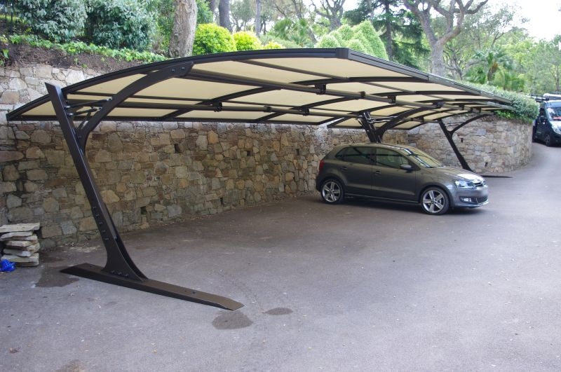 abri carport voiture provencal iii prestige. Black Bedroom Furniture Sets. Home Design Ideas